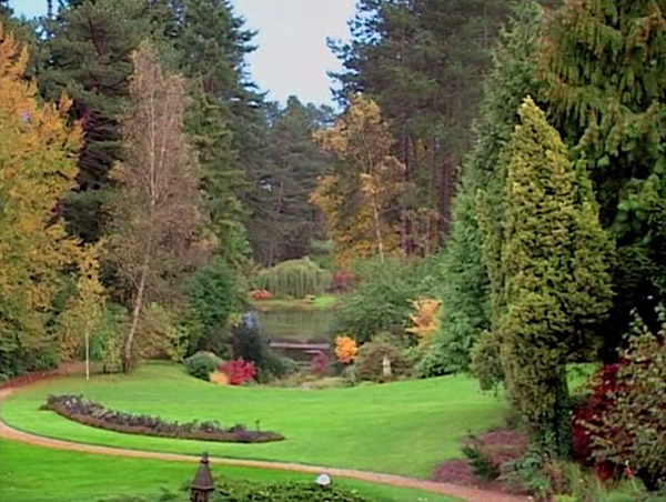 Section of Friar Park's world-class landscaping.
